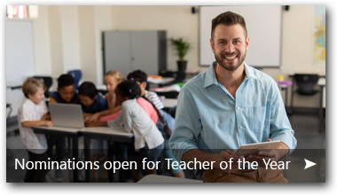 Nominations for Teacher of the Year